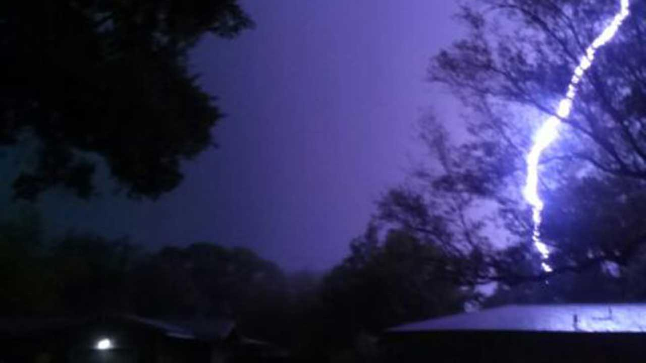 Strong storms leave mark across southeast Texas