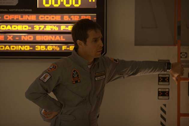 Sam Rockwell Moon Production Stills Sony Pictures Classics 2009