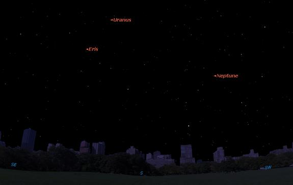For Stargazers' Delight, Uranus and Neptune: The Most Distant Planets