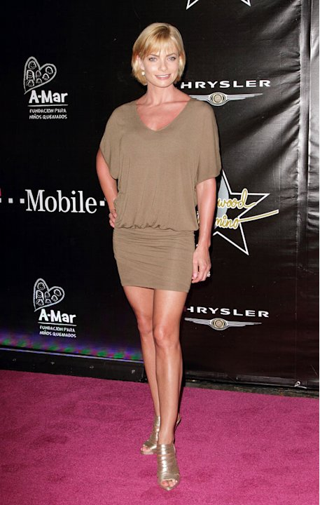 Jaime Pressly poses at the Hollywood Domino Gala & Tournament at the W Retreat & Spa Hotel on September 4, 2010 in Vieques, Puerto Rico.