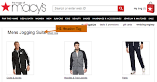 How To Begin Your Keyword Research image macys mens jogging suits1