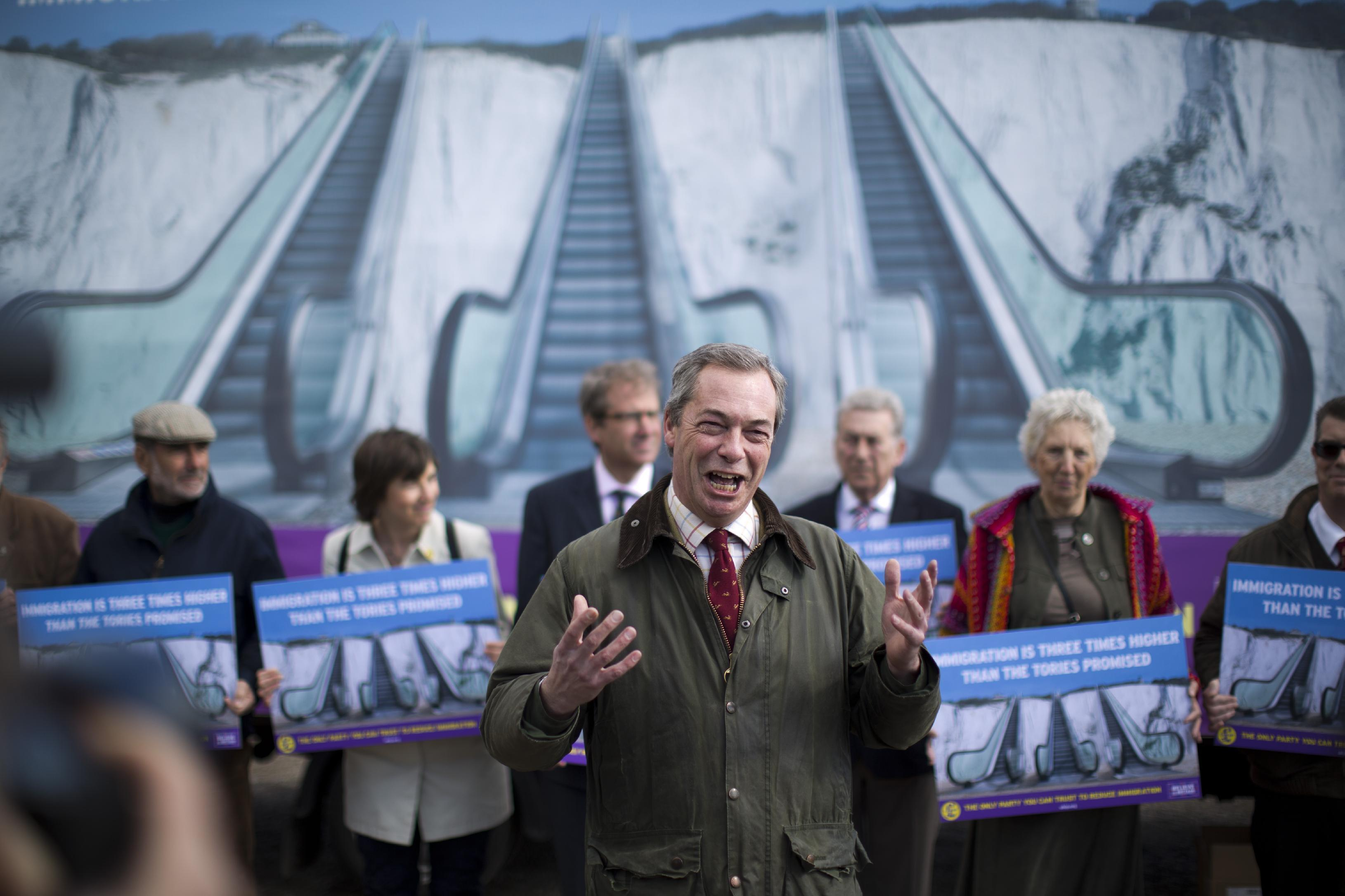 Unease about immigration at core of UK election campaign