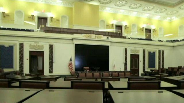 Inside the Edward M. Kennedy Institute for the US Senate
