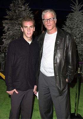 Premiere: Ted Danson and his son Charles at the Universal Amphitheatre premiere of Universal's Dr. Seuss' How The Grinch Stole Christmas - 11/8/2000