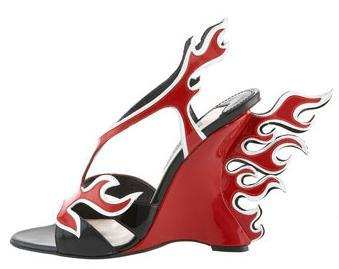 Prada's Hot Rod Shoes