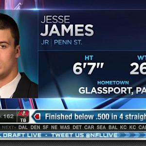 Pittsburgh Steelers pick tight end Jesse James No. 160 in 2015 NFL Draft