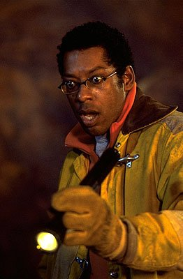 Orlando Jones as Harry in Dreamworks' Evolution