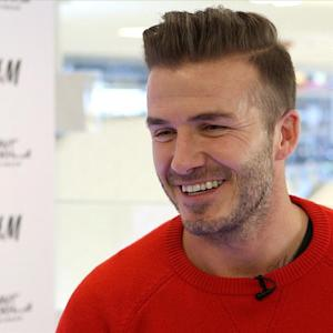 David Beckham Talks Super Bowl Style
