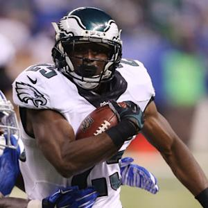 Philadelphia Eagles running back LeSean McCoy scores 50th career TD