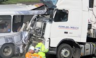 M5 Crash Lorry Driver Dies In Hospital