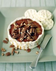 Starter: Baked Brie with Pecans
