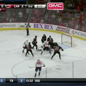 Anton Khudobin Save on Troy Brouwer (17:42/3rd)