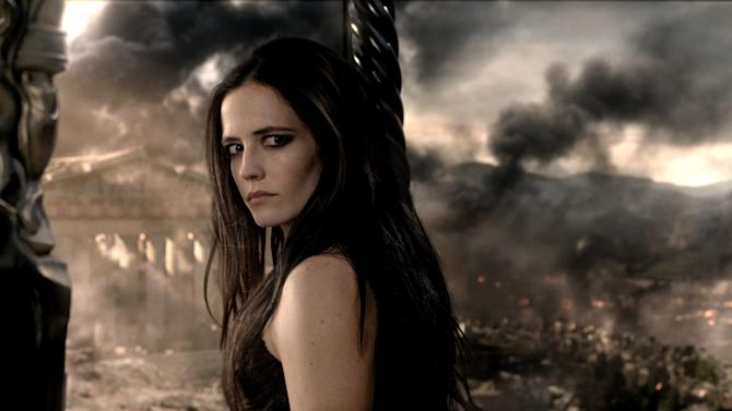 "This image released by Warner Bros. Pictures shows Eva Green in ""300: Rise of an Empire."" (AP Photo/Warner Bros. Pictures)"