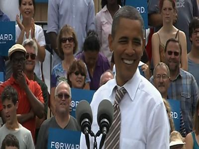 Obama begins road to convention
