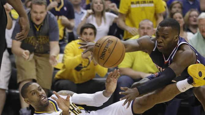 Pacers rally past Hawks 101-85 to even series