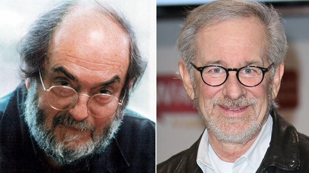 Stanley Kubrick and Steven Spielberg 