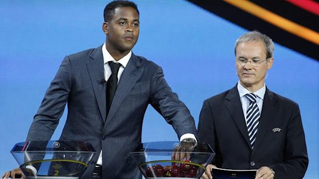 Patrick Kluivert (L), Giorgio Marchetti 2012