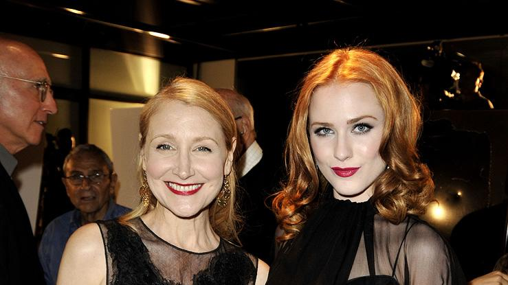 Whatever Works LA premiere 2009 Patricia Clarkson Evan Rachel Wood