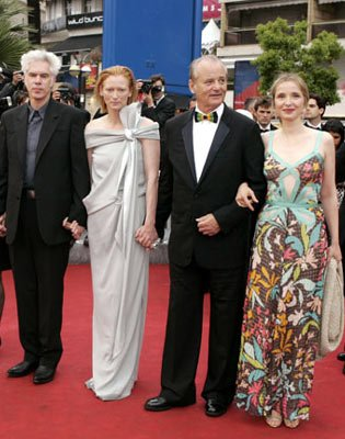 Director Jim Jarmusch, Tilda Swinton, Bill Murray and Julie DelpyBroken Flowers Premiere Cannes Film Festival - 5/17/05