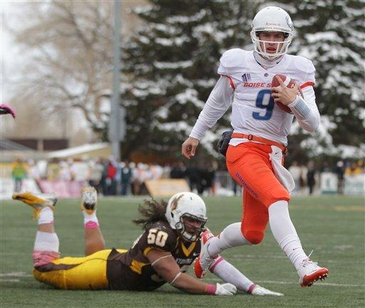 No. 21 Broncos beat Wyoming for 7th straight win