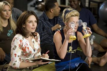 Tina Fey and Amy Poehler in Universal Pictures' Baby Mama