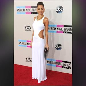Nicole Richie And Christina Aguilera Stun At The AMAs In Nearly Identical White Dresses