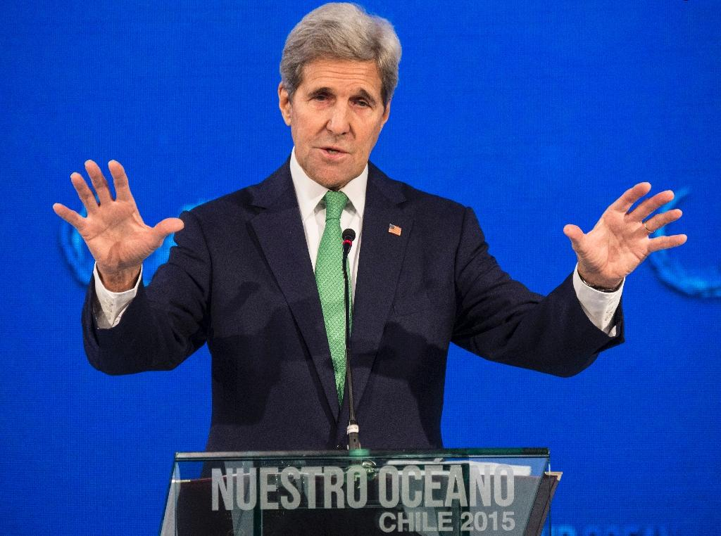 US and Cuba discussing joint marine reserve: Kerry