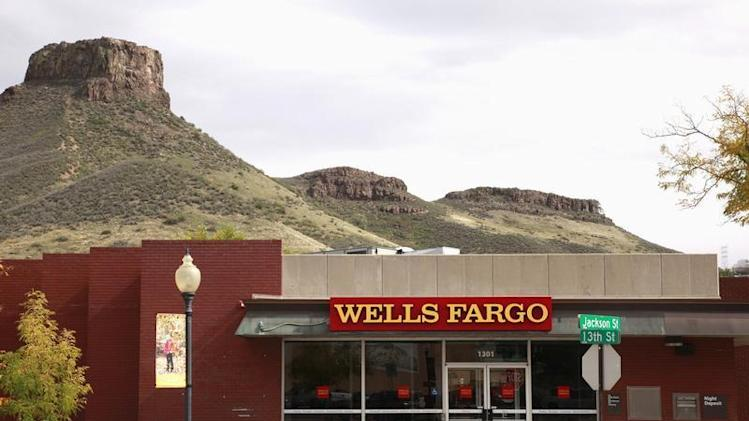 The Wells Fargo bank branch in Golden, Colorado