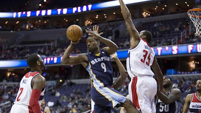 Grizzlies end Wizards' streak with 110-104 victory
