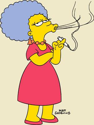 Patty Bouvier (voiced by Julie Kavner) Fox's The Simpsons