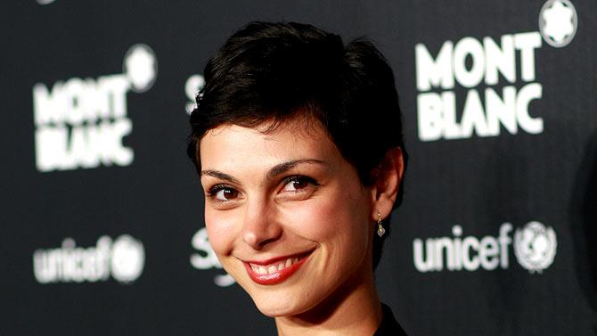 Morena Baccarin arrives at the Charity Auction Gala to benefit UNICEF hosted by Montblanc at the Beverly Wilshire Four Seasons Hotel on September 17, 2009 in Beverly Hills, California.