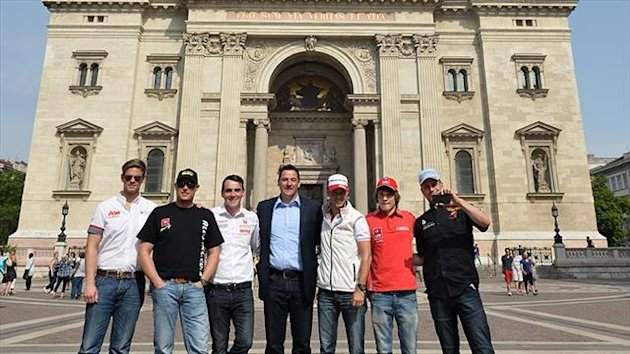 WTCC drivers meet press in Budapest