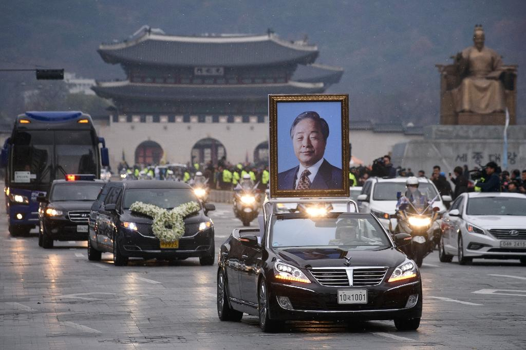 South Korea holds state funeral for ex-president Kim Young-Sam