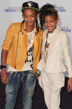 Jaden and Willow Smith (Allen Berezovsky/PR Photos)