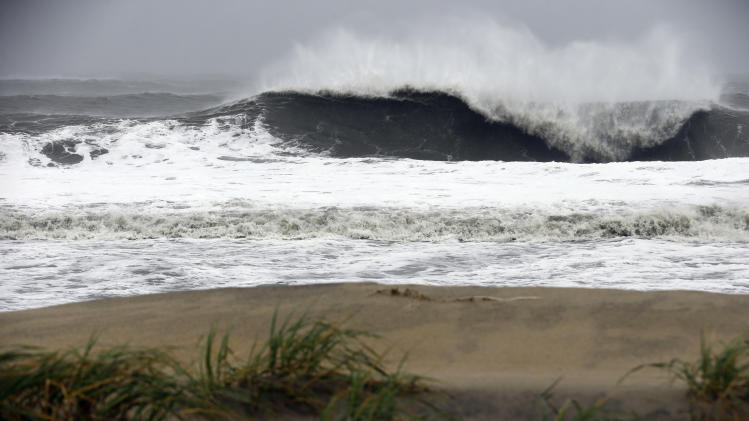 Sports sidesteps superstorm Sandy