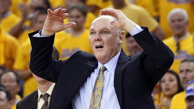 Denver Nuggets head coach George Karl (Reuters)