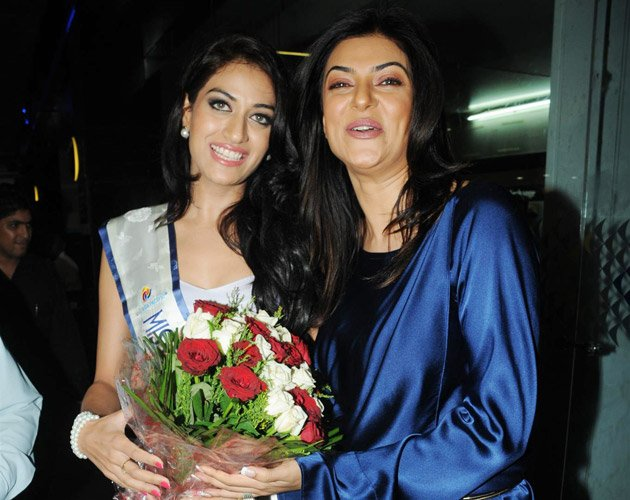 Why is Sushmita so happy?