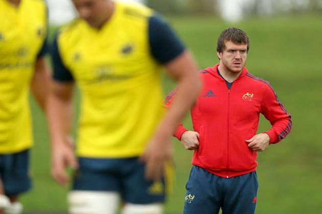 Ruptured ligament forces Sherry out of rugby for six months