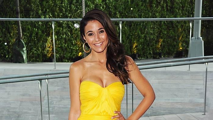 Emmanuelle Chriqui CFDA Awards
