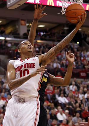 Ross scores 20, No. 5 Ohio St beats Maryland 76-60