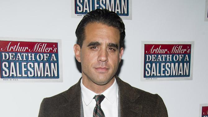 """FILE - In this March 15, 2012 file photo, actor Bobby Cannavale attends the opening night performance of the Broadway revival of Arthur Miller's """"Death of A Salesman"""" in New York. Cannavale will join the cast """"Glengarry Glen Ross,"""" portraying Ricky Roma, with previews beginning on Tuesday, October 16, and an official opening date set for Sunday, November 11 at the Gerald Schoenfeld Theatre in New York. (AP Photo/Charles Sykes, file)"""