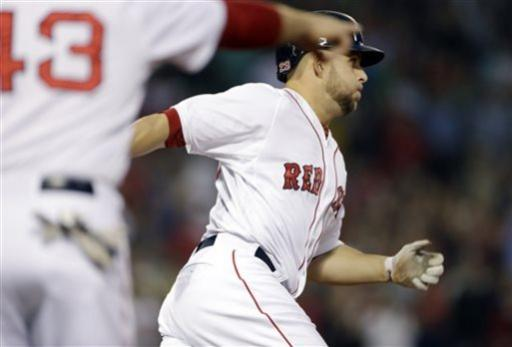 Lackey leads BoSox over Padres 4-1