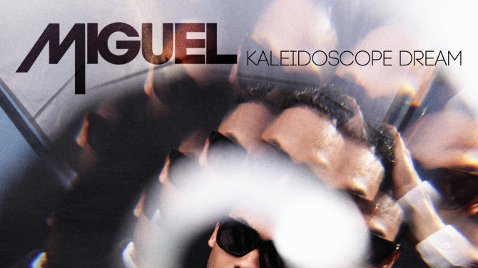 "This CD cover image released by RCA Records shows the latest release by Miguel, ""Kaleidoscope Dream."" (AP Photo/RCA Records)"