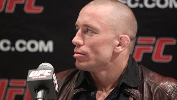 Georges St-Pierre Denies to Steroid Allegations