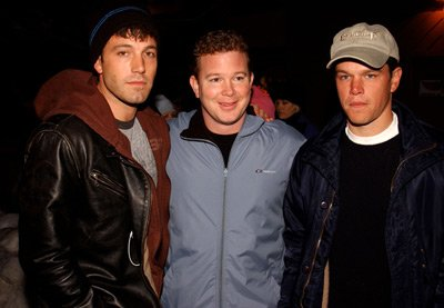Ben Affleck, Peter Jones and Matt Damon Stolen Summer Premiere Sundance Film Festival 1/12/2002