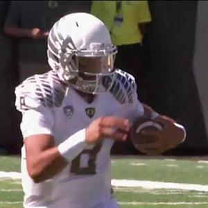 University of Oregon quarterback Marcus Mariota to the Tennessee Titans?