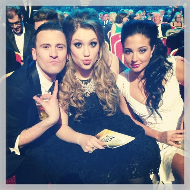 Tulisa tweeted this photo of her with her X Factor protge Ella Henderson as they enjoyed the NTAs. Copyright [Tulisa]