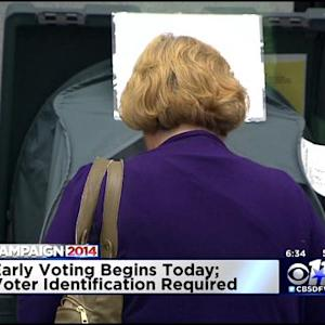 Early Voting Begins Amid ID Controversy