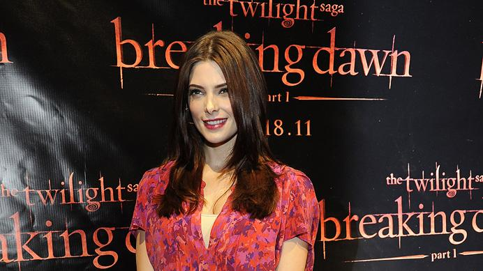 The Twilight Saga Breaking Dawn Part 1 Press Events 2011 Ashley Greene