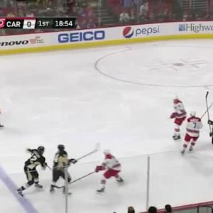 Cam Ward Save on Chris Kunitz (01:06/1st)